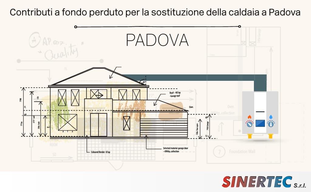 Contributi a fondo perduto per sostituzione caldaia a Padova